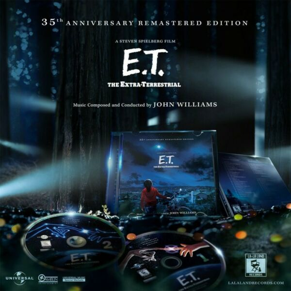 E.T. The Extra-Terrestrial 35th Ann. Edition; John Williams; 2 CDs; Rare; Sealed