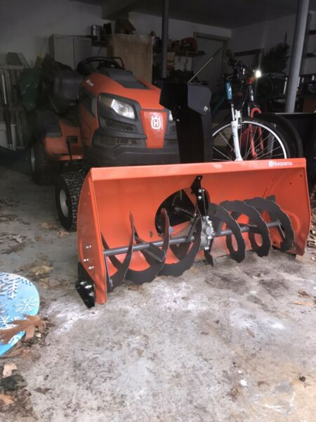 "42"" Husqvarna Snowblower Attachment"