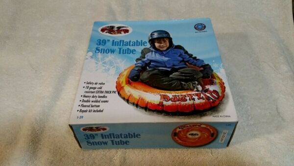 Flexible Flyer  Blizzard  Inflatable  PVC  Snow Tube  39 in.