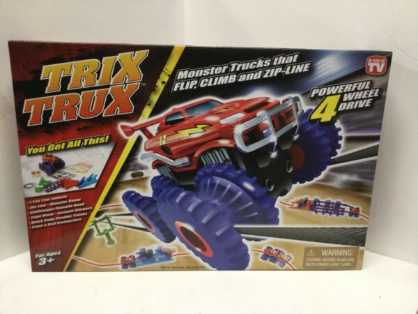 Trix TruX Monster Truck 4-Wheel Drive Toy Tristar Product New In Box Present R26