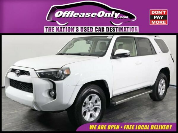 2017 Toyota 4Runner SR5 Premium RWD Off Lease Only 2017 Toyota 4Runner SR5 Premium RWD Regular Unleaded V-6 4.0 L24