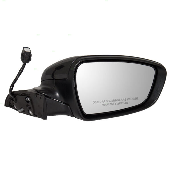 Passengers Side View Power Mirror Heated for 14-16 Kia Forte Forte5 87620 A7200