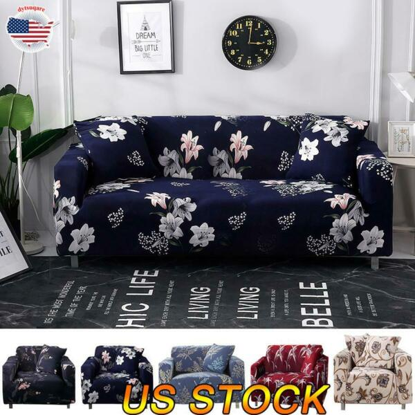 Sofa Cover Slipcover Spandex Stretch Cushion Cover Pillow Case Furniture Cover $34.39