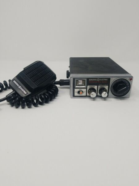 General Electric 40 Channel PLL System Model 3 5801A CB Transceiver $18.00