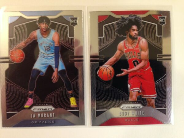 2019-20 Panini Prizm Basketball ROOKIE BASE SINGLES - Complete Your Set #248-300