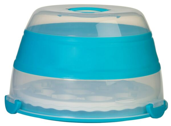 Progressive Bcc 6 Teal Collapsible Cupcake Carrier