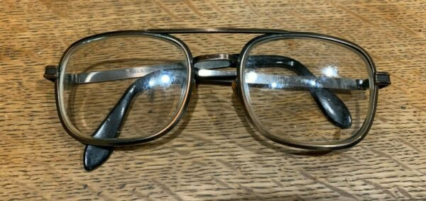 TART OPTICAL AVIATOR U.S.A. VINTAGE AVIATOR EYEGLASSES  5 34 VGVC+ PLEASE READ
