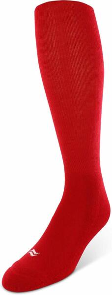 SOF SOLE Medium Baseball Over The Calf Performance Socks 2 Pack Red Sz 5 9.5 $10.99