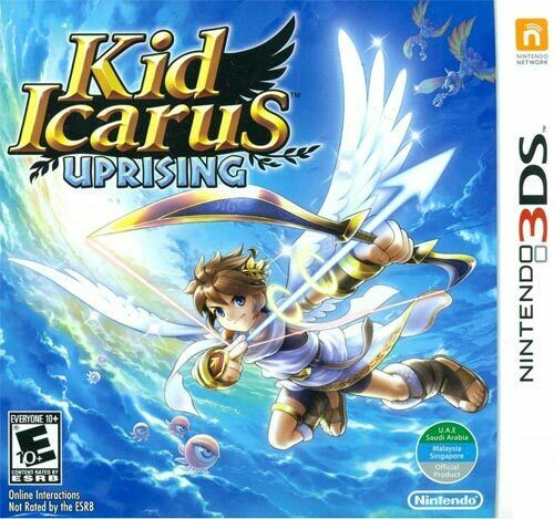 Kid Icarus: Uprising Nintendo 3DS World Edition. Brand New