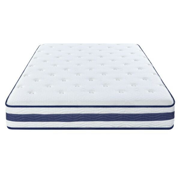 SLEEPLACE 11inch Tight Top Spring mattress  -Blue Piping 11SM03