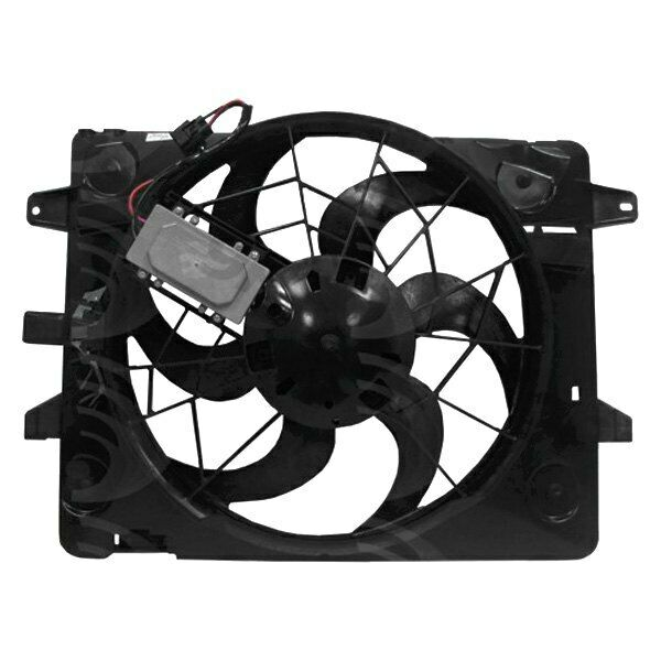 For Lincoln Town Car 2003-2005 GPD Engine Cooling Fan Assembly
