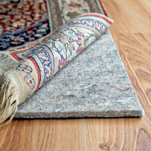 RUGPADUSA Dual Surface 1 4quot; Thick Felt Rubber Non Slip Backing Rug Pad