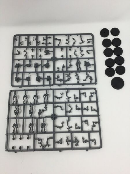 10 Crypt Ghouls Flesh-eater Courts Warhammer Age Sigmar Free Shipping NOS