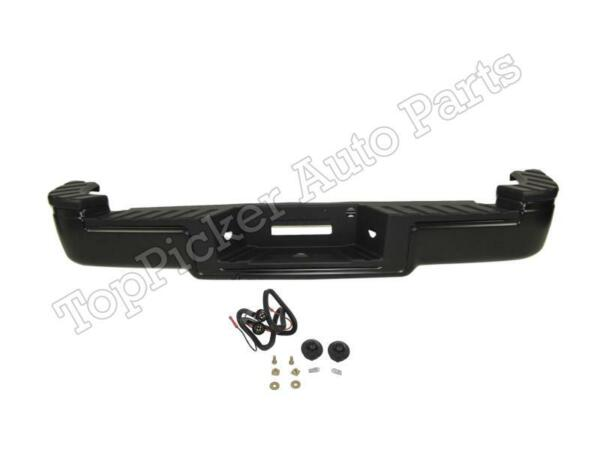 REAR STEP BUMPER BLACK ASSY FOR 2004 2009 F150 FLARESIDE HITCH STYLE FO1103122 $486.63