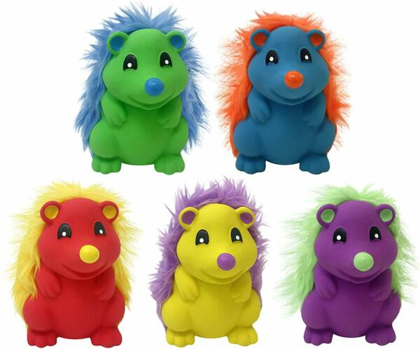 Multipet LatexPlush Hedgehog   Free Shipping $7.95