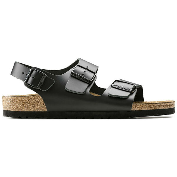 Unisex Adults Birkenstock Milano Natural Leather Holiday Beach Sandals All Sizes