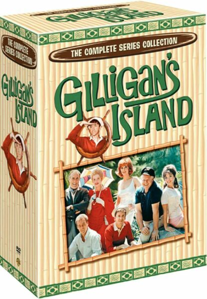 Gilligan's Island :The Complete Series Collection (DVD 2011 17-Disc Box Set)