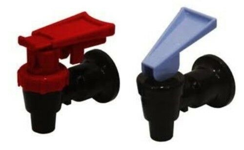 Black Oasis Sunroc MTN Water Cooler Valve with Red Child Safety 2 Pack