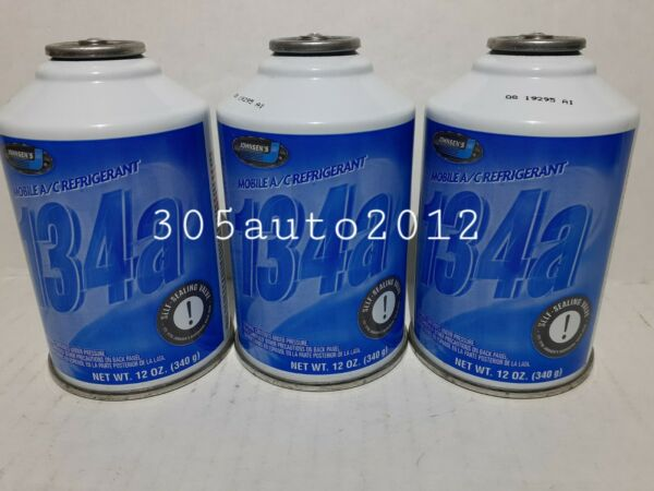 NATIONAL R134a Refrigerant 3 Cans *BEST PRICE ON eBay* AC 12oz Can Auto car AC