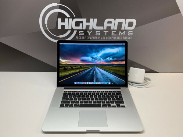 MACBOOK PRO 15 RETINA 3.2GHz i7 16GB RAM 500GB SSD WARRANTY OS 2019