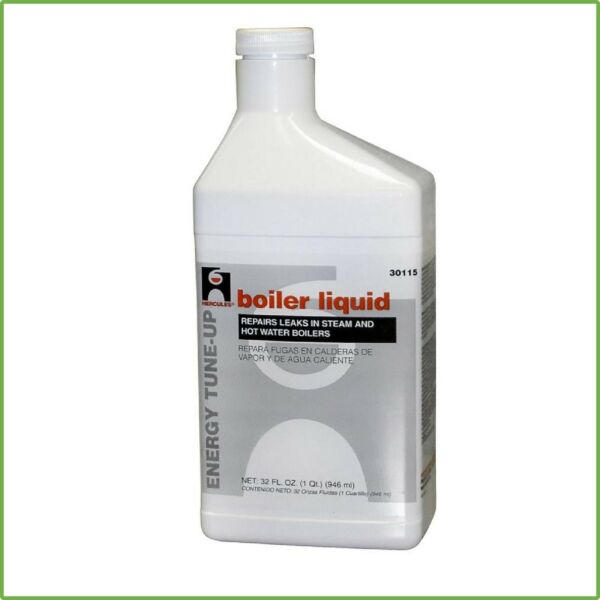 1 Qt Boiler Liquid Repair Crack Leak Sealer Odorless Water Heater Accessories
