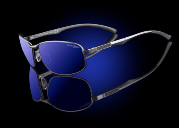 Men#x27;s Design Luxury Small Oval Polarized 100% UV Sunglasses quot;Helixquot; $49.99