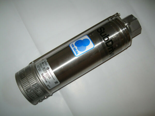 Franklin Subdrive Quickpak  Stainless  15SD07S4-PE   Submersible Pump HP 15 GPM