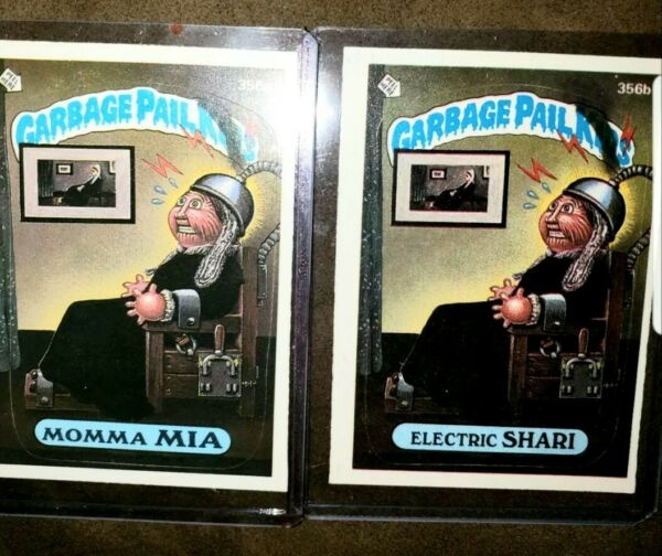 1987 Garbage Pail Kids Cards #356ab  Momma MIAElectric SHARI  *MINTAUTH CARDS
