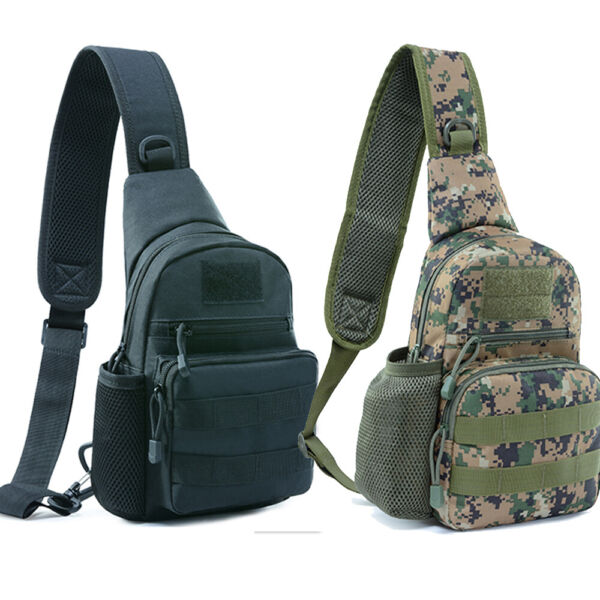 Tactical Sling Bag Pack Military Rover Assault Chest Backpack Small EDC Daypack $13.98