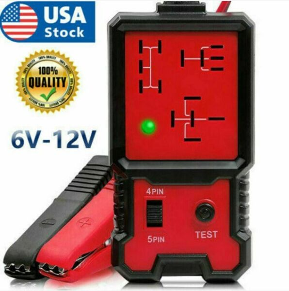 US 12V Electronic Automotive Relay Tester for Cars Auto Battery checker AE100 $14.99