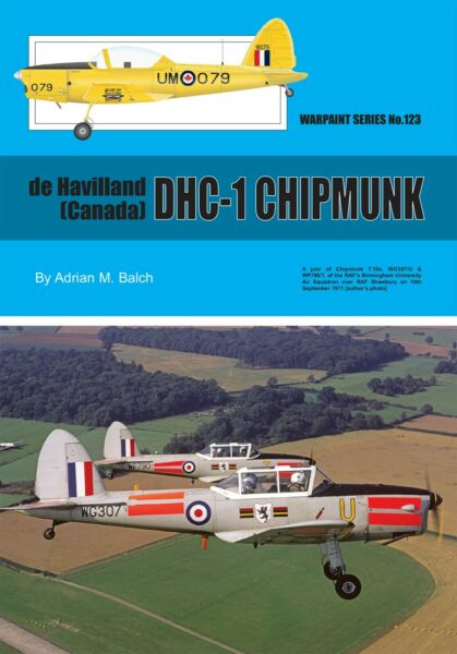 NEW! DHC-1 Chipmunk (Warpaint No 123)