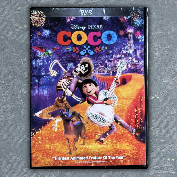 Disney's COCO (DVD 2018) Brand New Free First Class mail