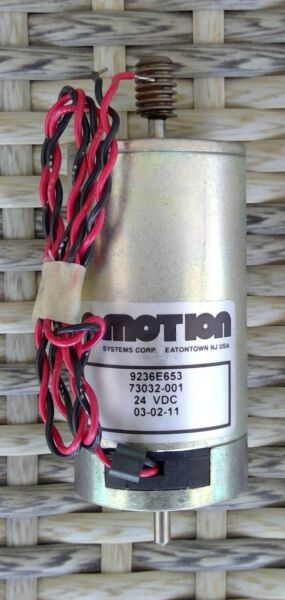 Motion Systems Corporation OEM 73032 001 MOTOR 30 TO 1 GEAR SINGLE START