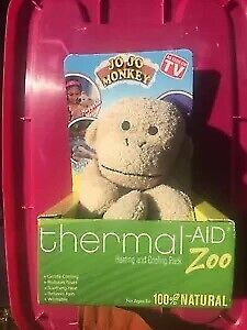 Stuffed Monkey Natural Heating amp; Cooling Pack By Thermal Aid $15.95