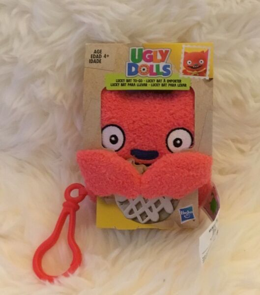 NEW Hasbro Ugly Dolls Lucky Bat To-Go Stuffed Plush Toy 5 inch tall