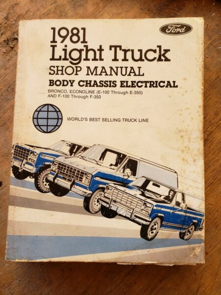 1981 Ford Light Truck Shop Manual