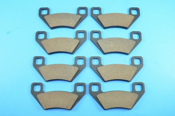 Front Rear Carbon Brake Pads for Arctic Cat Wildcat 4x 1000 2012 2013 2014 $19.99