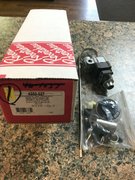 Robertshaw Commercial Gas Thermostat 4350 027 new in box $119.04