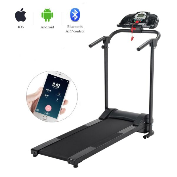 750W Foldable Electric Motorized Treadmill Running Jogging Gym Power Machine New $216.99