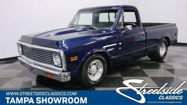 1971 Chevrolet C-10 Restomod FUEL INJECTED LS1 V8 TH400 FRONT DISC 12 BOLT REAR FAST AND LOUD HOUNDSTOOTH