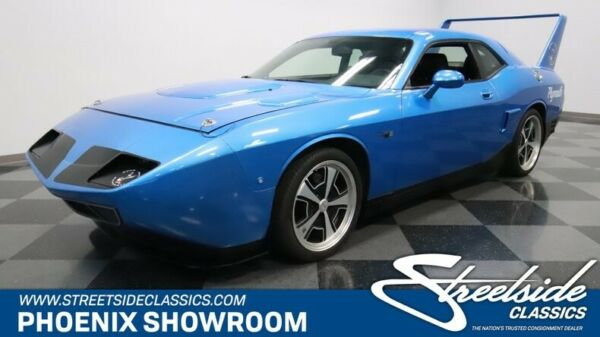 2010 Dodge Challenger SuperBird Plymouth Original Low Classic Vintage Collector Hemi V8 Manual Blue Road Runner