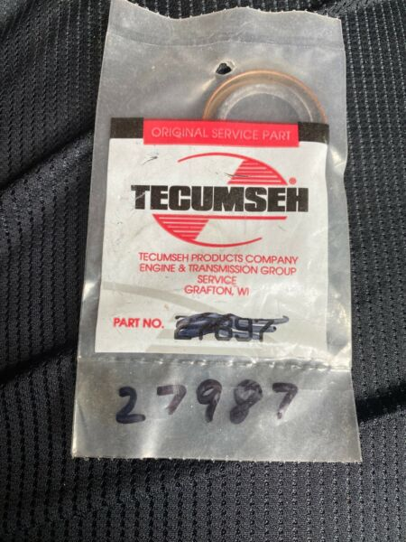 GENUINE OEM TECUMSEH OIL SEAL FITS SNOW BLOWERS TILLERS 27897 31248 BTT