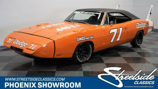 1970 Dodge Charger Daytona Tribute Nascar Clone V8 Manual Classic Vintage Collector Vitamin C Orange Mopar Vinyl Bl