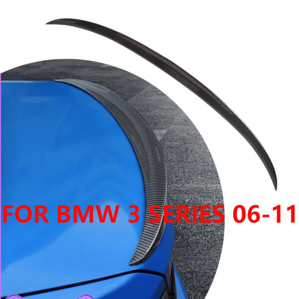 FOR BMW BMW F10 5 Series 535i 528i 11 16 Rear Carbon Fiber Trunk Spoiler Wing $108.95