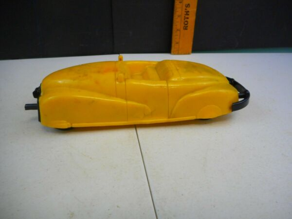 1950#x27;s Bump Mobile Plastic Battery Operated By Motorized Parts Only $15.00
