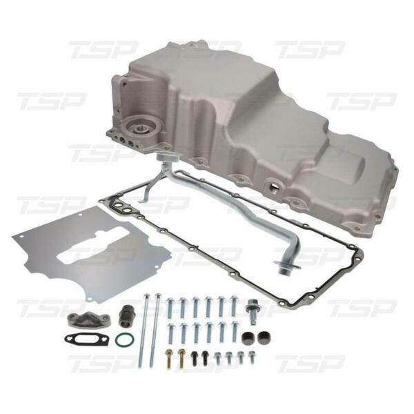 TSP Engine Oil Pan 81075; Extra Clearance Low Pro 5.7qt Natural for LS Series $263.34