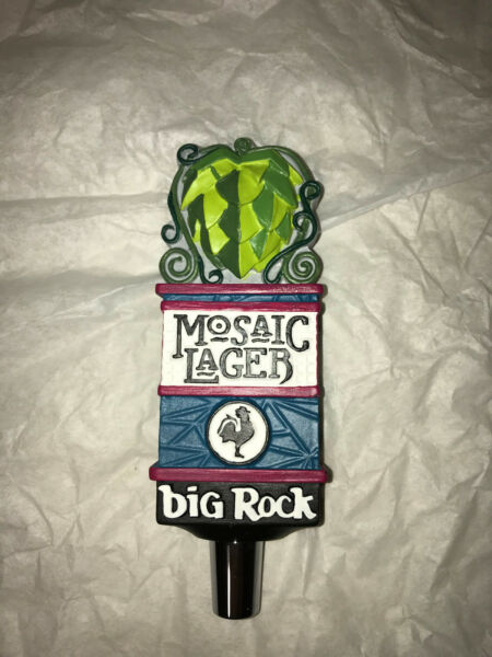 BIG ROCK Brewery MOSAIC Lager Mini BEER TAP HANDLE*** BRAND NEW *** RARE KEG
