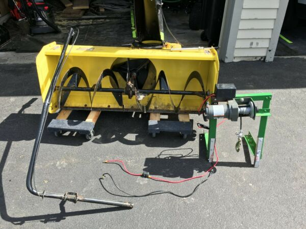 John Deere 44in Two Stage Snow Blower Attachment