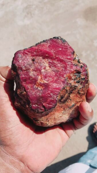 Natural Red Ruby 1.45 Kg.