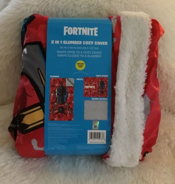 FORTNITE 2 In 1 Slumber Cozy Cover 60